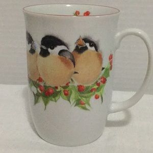 Other - Valerie Pfeiffer Mug With Chickadees